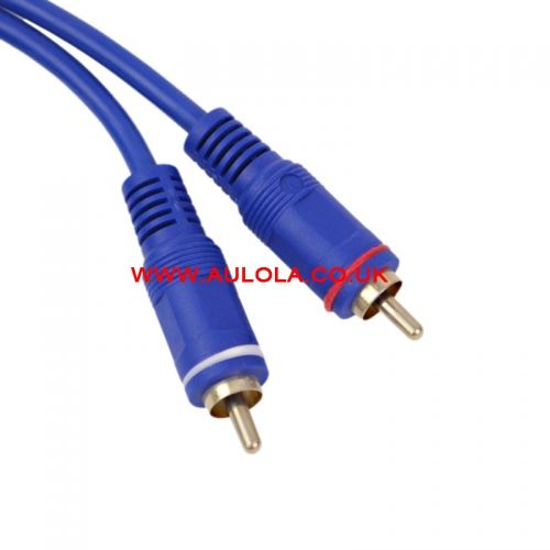 3M 3.5mm Plug to 2 RCA AV Male Plug Audio Connector Cable