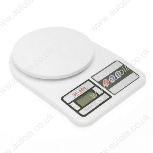 "1.7"" LCD Digital Kitchen Scale (10kg Max/1g Resolution)"