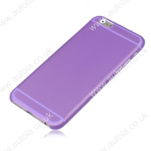 Newest PC Frosted Back Cover Ultra Thin Shell Case for iPhone 6- Purple