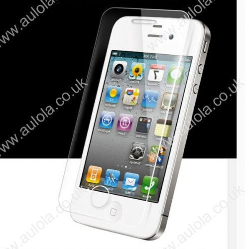 Straight Edge Premium 9H Tempered Glass Screen Protector for iPhone 4/4S