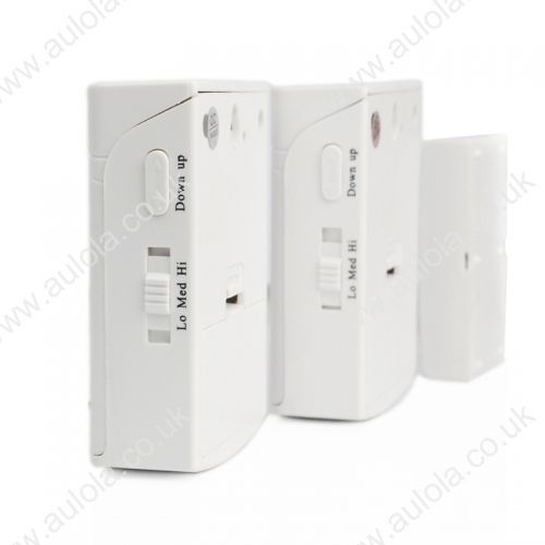 38 Songs 2 in 1 Wireless Door Bell with Remote Control- White