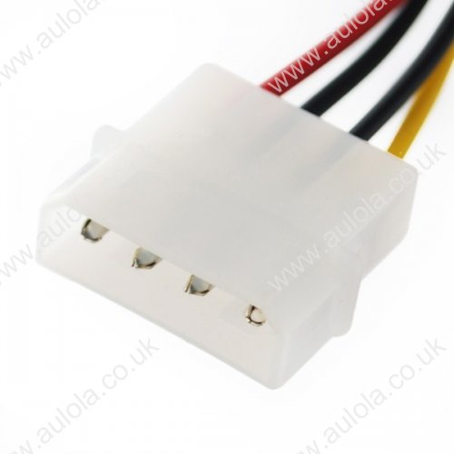 4-Pin IDE to 15-Pin SATA HDD Power Cable