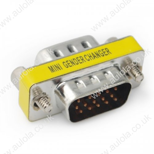 USA Patent Mini Gender Charger Adapter Male to Male