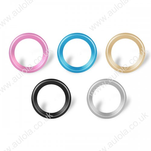 """Moblie Rear Camera Lens Protective Ring for iPhone 6 5.5"""" - Rose Red"""