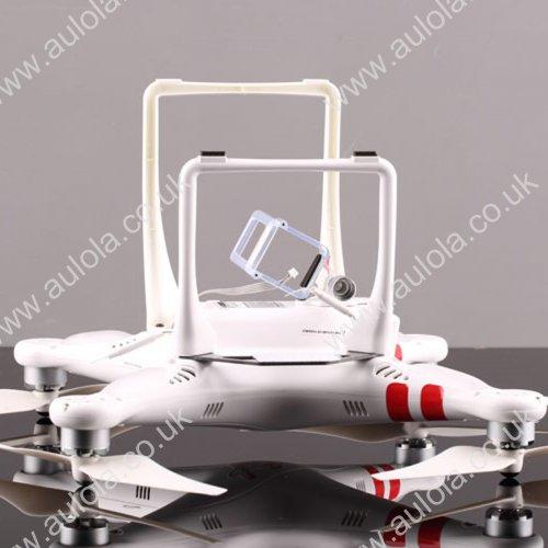 Heightened & Widened Landing Feet Mount for DJI Phantom Quadcopter - White