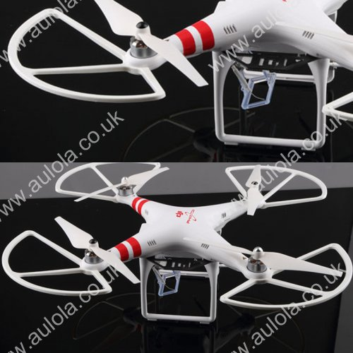 DJI Phantom 2 Propeller Props Guard Protector Bumper - White