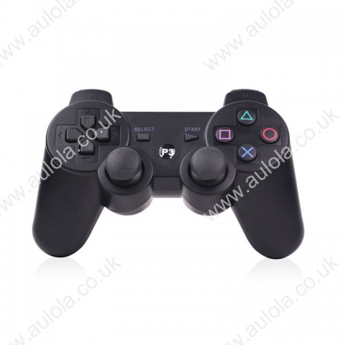 Wireless Dual Shock 3 Six Axis Controller Joystick with Vibration for PS3- Black