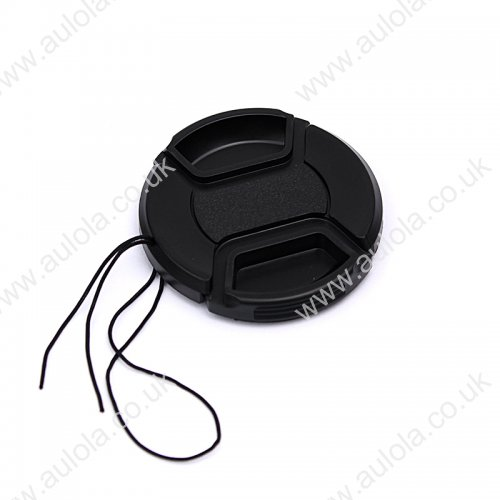 58MM Snap Front Lens Cap Cover for Sony, Nikon, Pentax, Canon