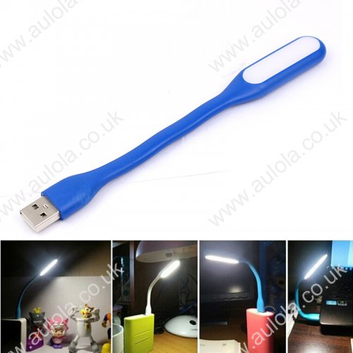 Xiaomi MI Portable Bendable Mini USB LED Light - Blue