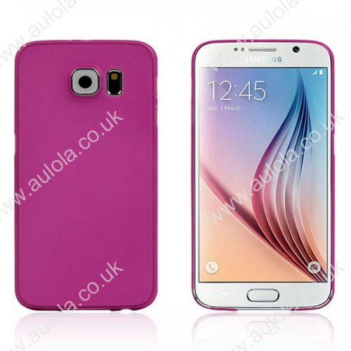 Super Lightweight PP Case for Samsung Galaxy S6 - Rose Red