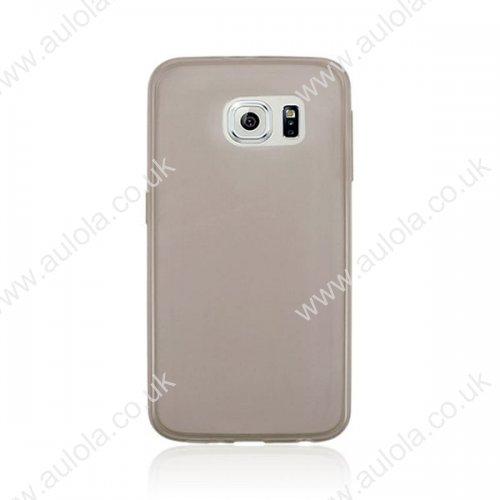 Super Slim Thin TPU Case for Samsung Galaxy S6 - Grey