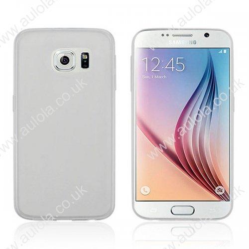 Super Slim Thin TPU Case for Samsung Galaxy S6 - Transparent