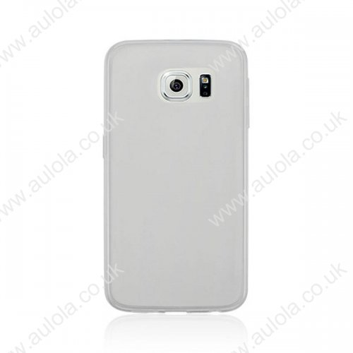 Super Slim Thin TPU Case for Samsung Galaxy S6 - Transparent