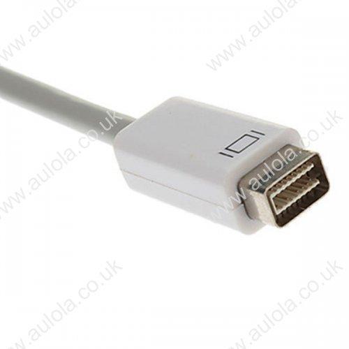 Mini DVI to VGA Converter Adapter Cable for iMac MacBook