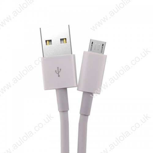 1m Micro USB Bigger Thickened Strong Data Charging Cable - White