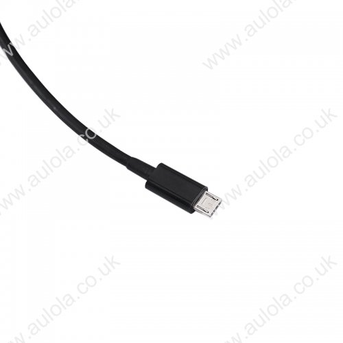2m Micro USB Bigger Thickened Strong Data Charging Cable - Black