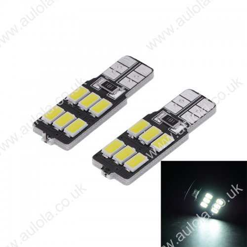 T10-6SMD 5730 Canbus LED Car Side Wedge Tail Light Lamp White