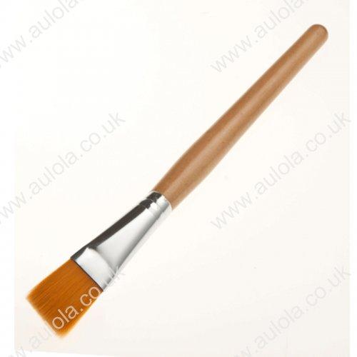 Wooden Handle Facial Mask Brush