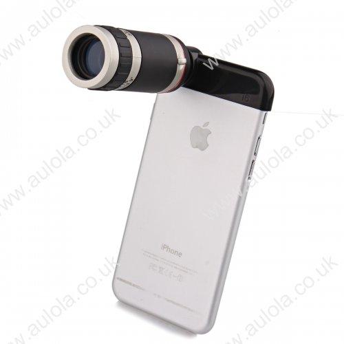8x Zoom Telephoto Telescope Mobile Phone Camera Lens for iPhone 6 4.7