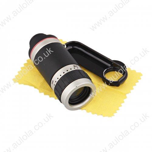 8x Zoom Telephoto Telescope Mobile Phone Camera Lens for iPhone 6 Plus