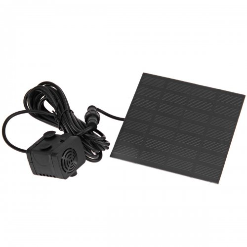 1.2W Solar Power Fountain Water Pump Panel Kit Pool Garden Pond Submersible Watering