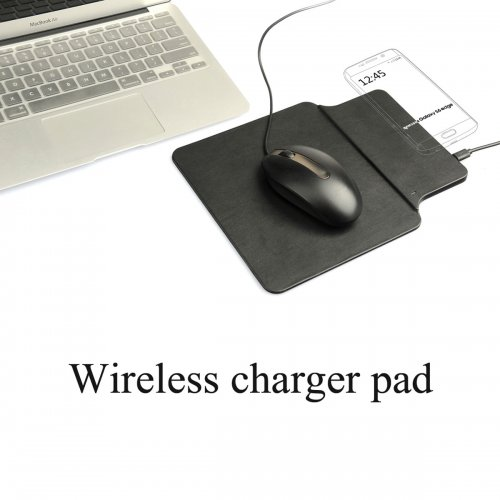 Wireless Charging Charger Dock Pad Plate Transmitter Mouse Mat