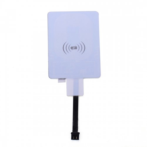 Universal Micro USB QI Wireless Charging Card Receiver for Android Mobile Phone with Forward Connector