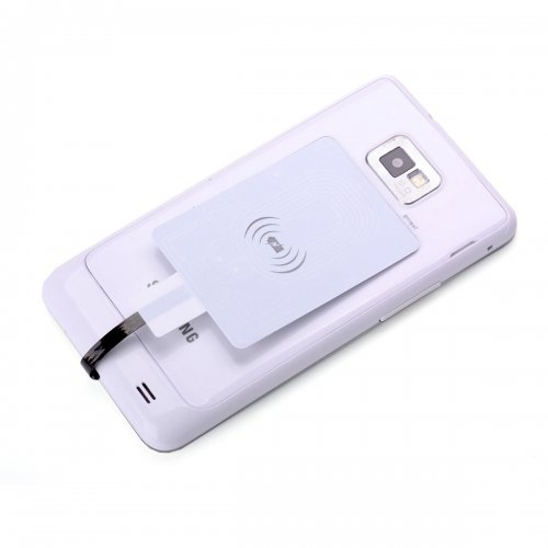 Universal Micro USB QI Wireless Charging Card Receiver for Android Mobile Phone With Reverse Connector