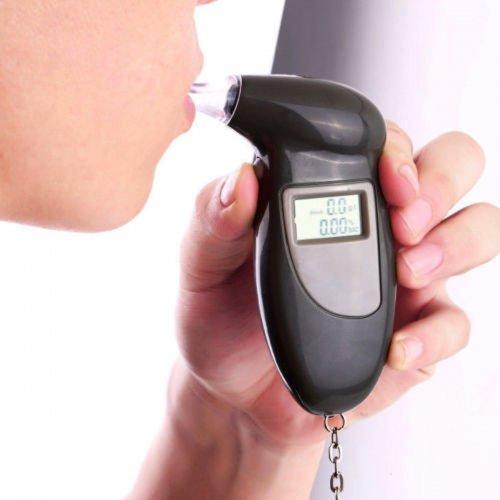 LCD Digital Alcohol Breath Analyzer Tester Detector Breathalyzer Test