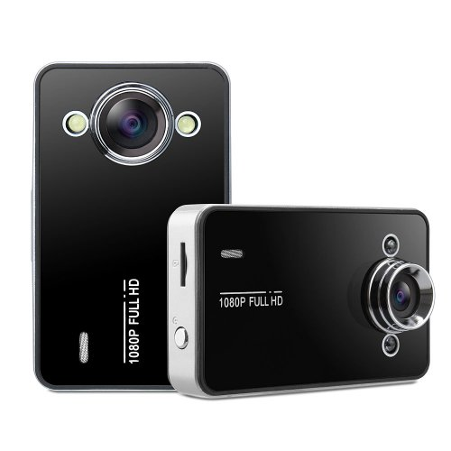 "1080P HD 2.5"" LCD Mini Car DVR Video Camera Recorder Night Vision K6000"