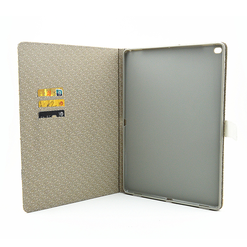 Vintage Style Magnetic Flip Stand Leather Case Cover Shell for iPad Pro - Butterfly