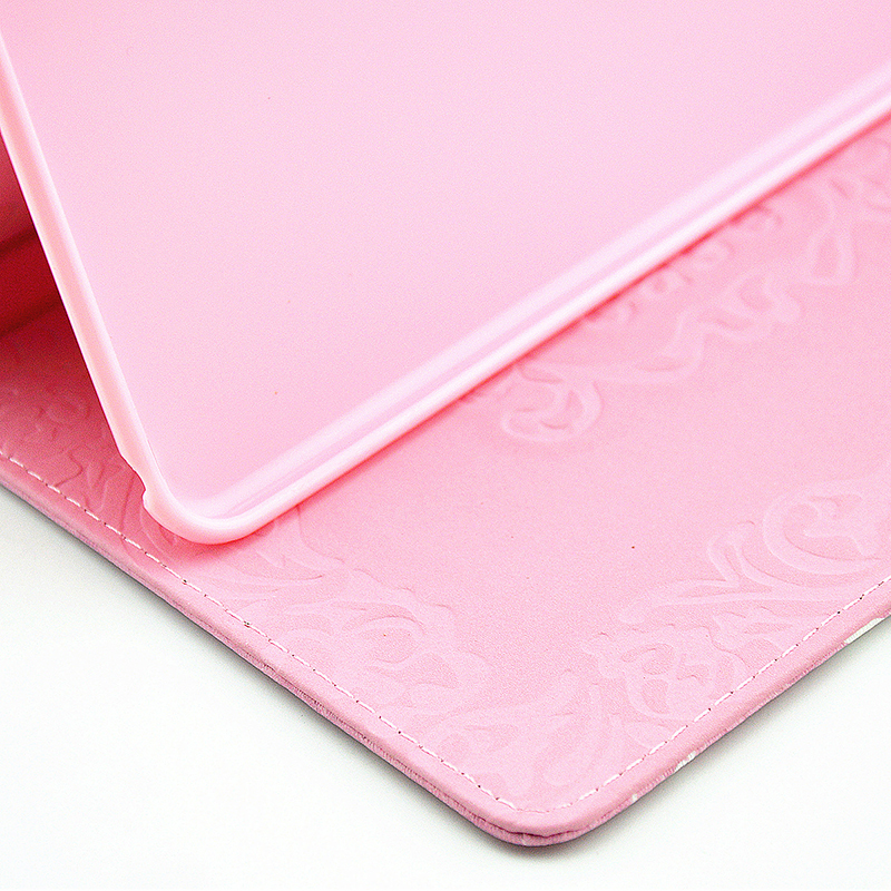 Bling Magnetic Flip Stand Leather Case Cover Shell for iPad  Mini 4 - Butterfly Fairy