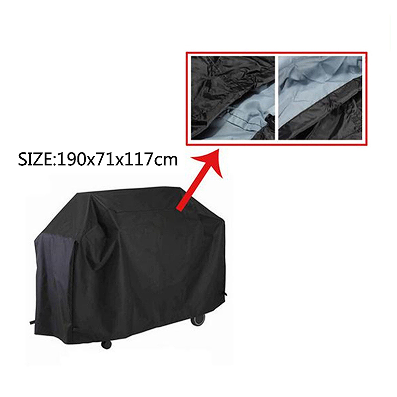 BBQ Cover Barbecue Cover Grill Cover Protector Waterproof 190x71x117cm