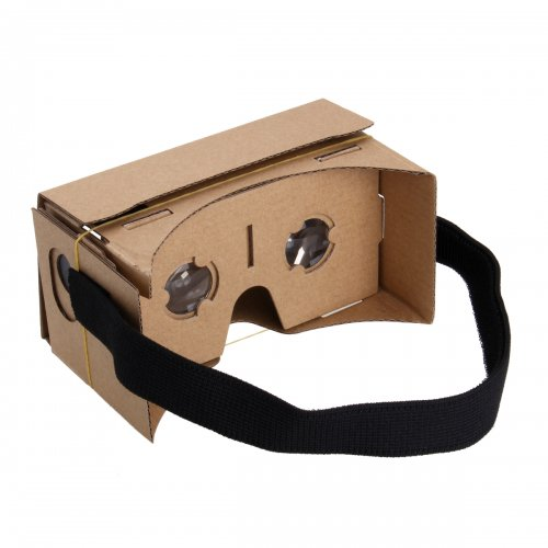Google Cardboard Virtual Reality Headset 3D VR Glasses with NFC 5.4 inch Screen