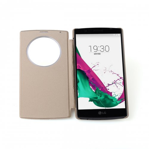 Quick Battery Cover Case Qi Wireless Charging Receiver with NFC For LG G4 - Gold
