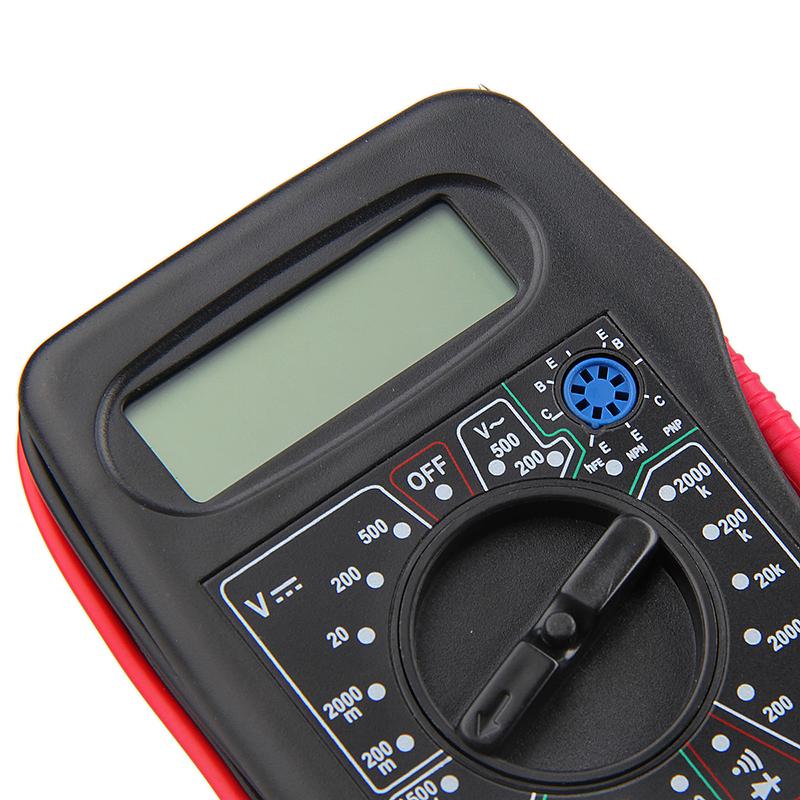 DT-831B+ LCD AC/DC 500V Tester Voltmeter Ammeter Ohm Digital Multimeter