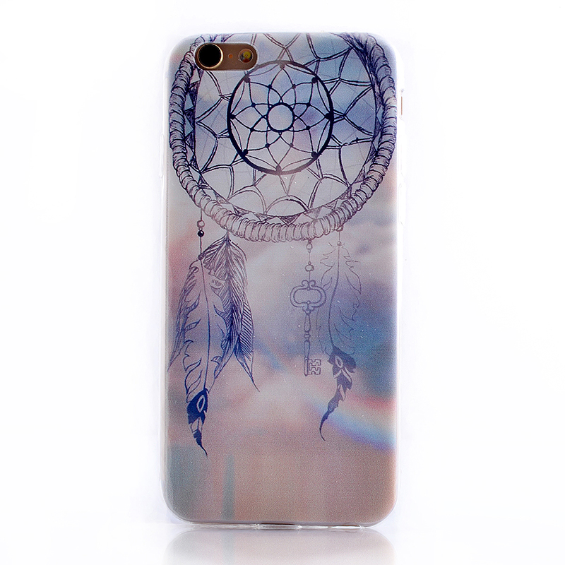 TPU Slim Thin Soft Case Back Cover Skin Shell for iPhone 6 4.7 - Dream Catcher