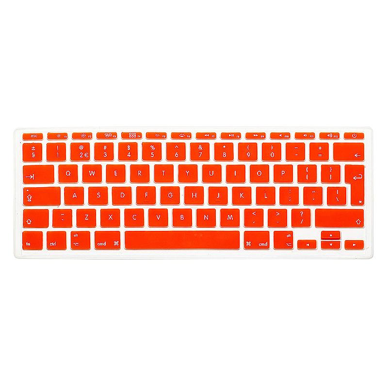 EU Silicone Keyboard Skin Cover For Apple Macbook Pro Air Mac Retina 11 inch - Orange