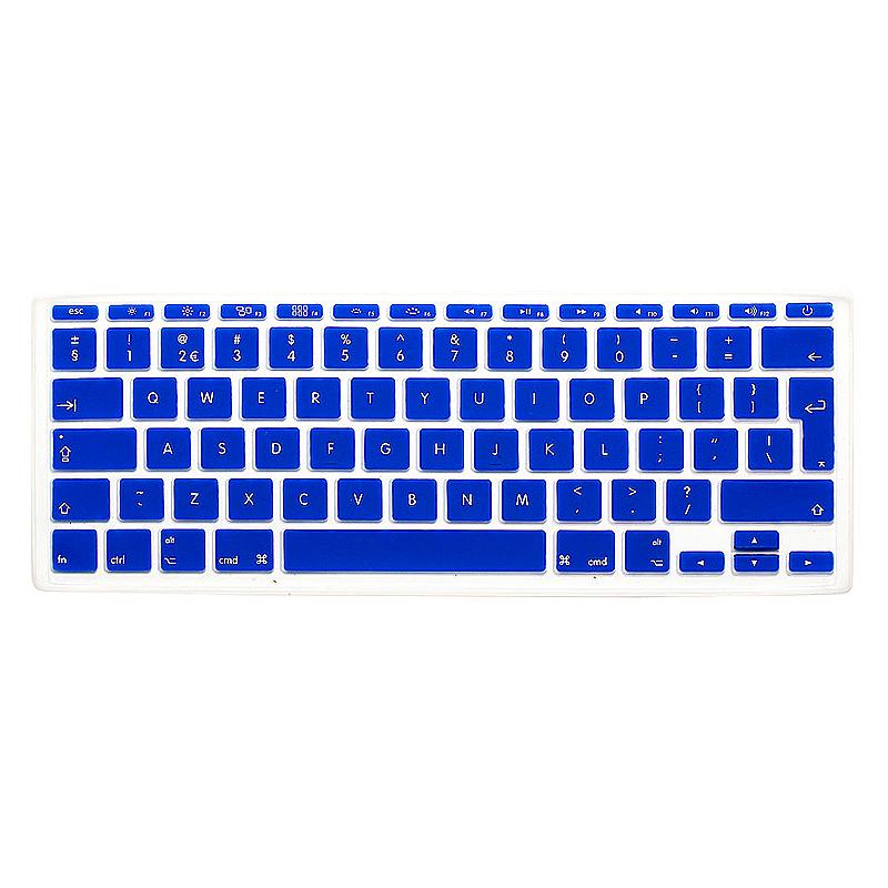 EU Silicone Keyboard Skin Cover For Apple Macbook Pro Air Mac Retina 11 inch - Blue
