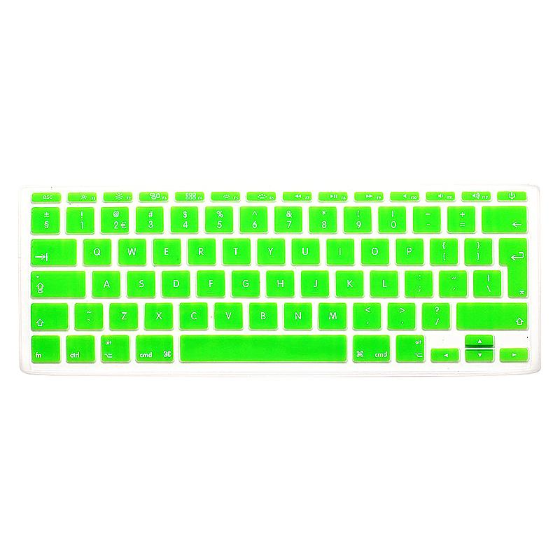 EU Silicone Keyboard Skin Cover For Apple Macbook Pro Air Mac Retina 11 inch - Green
