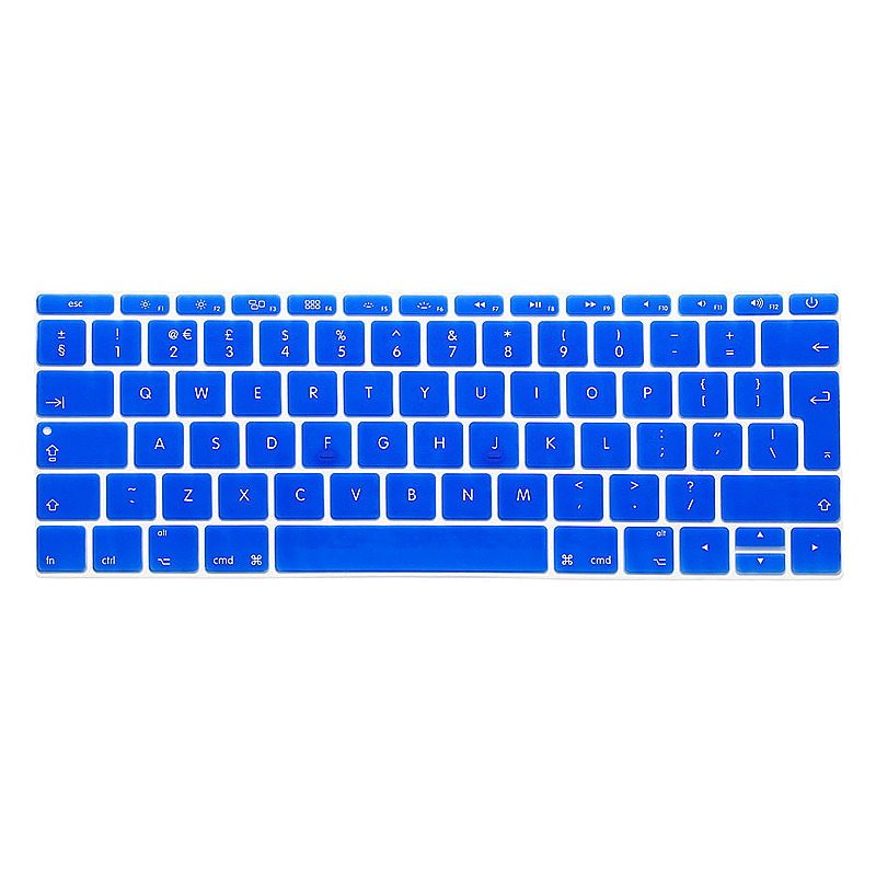 EU Silicone Keyboard Skin Cover For Apple Macbook Pro Air Mac Retina 13 inch - Blue
