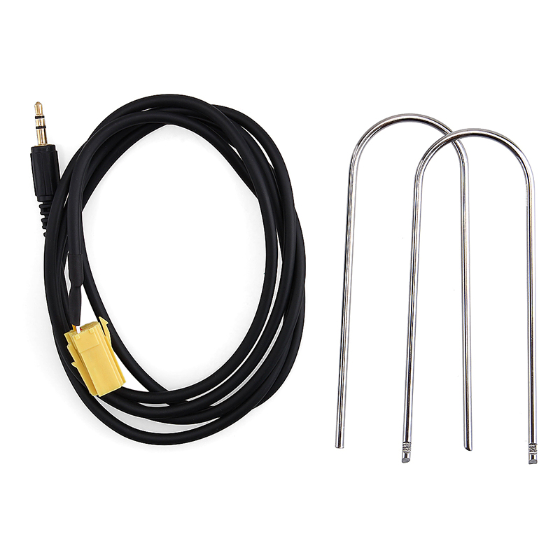 3.5MM MP3 iPod AUX Audio Cable plug Input Adapter for Alfa Romeo Fiat Lancia