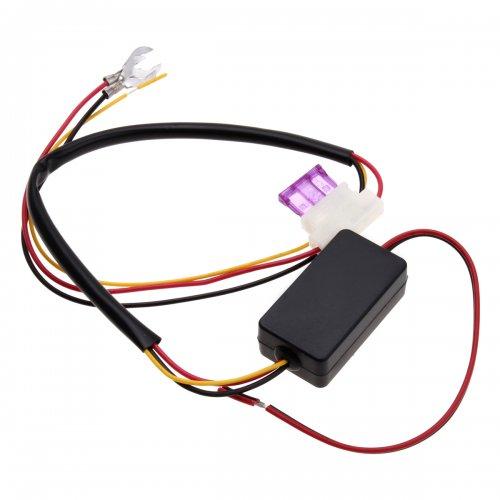 12V Intelligent LED Daytime Running Lights Box DRL Relay Harness Control