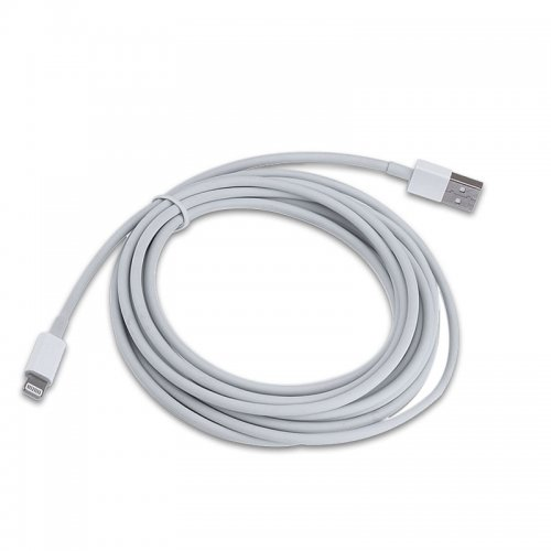 2m Bigger Thickened Strong Data Charging Cable for iPhone 5/ 5S /6 / 6 Plus /7 /8 /X - White