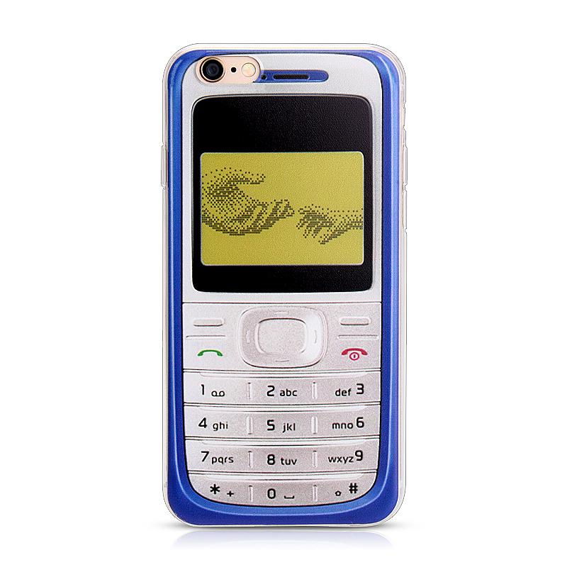 Slim Soft Rubber TPU Back Case Skin for Apple iPhone 6 4.7 - Nokia