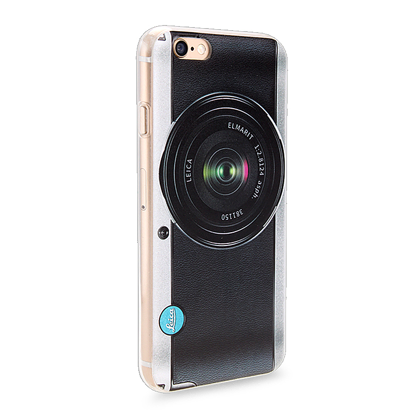 Slim Soft Rubber TPU Back Case Skin for Apple iPhone 6 4.7 - Camera