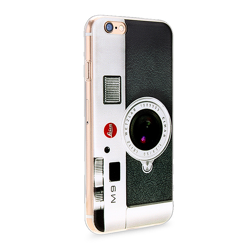 Slim Soft Rubber TPU Back Case Skin for Apple iPhone 6 4.7 - Flash Camera