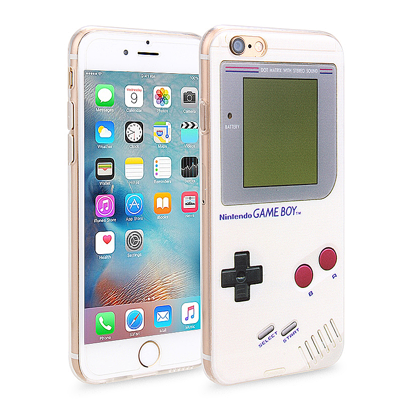 Slim Soft Rubber TPU Back Case Skin for Apple iPhone 6 Plus 5.5 - Game Console