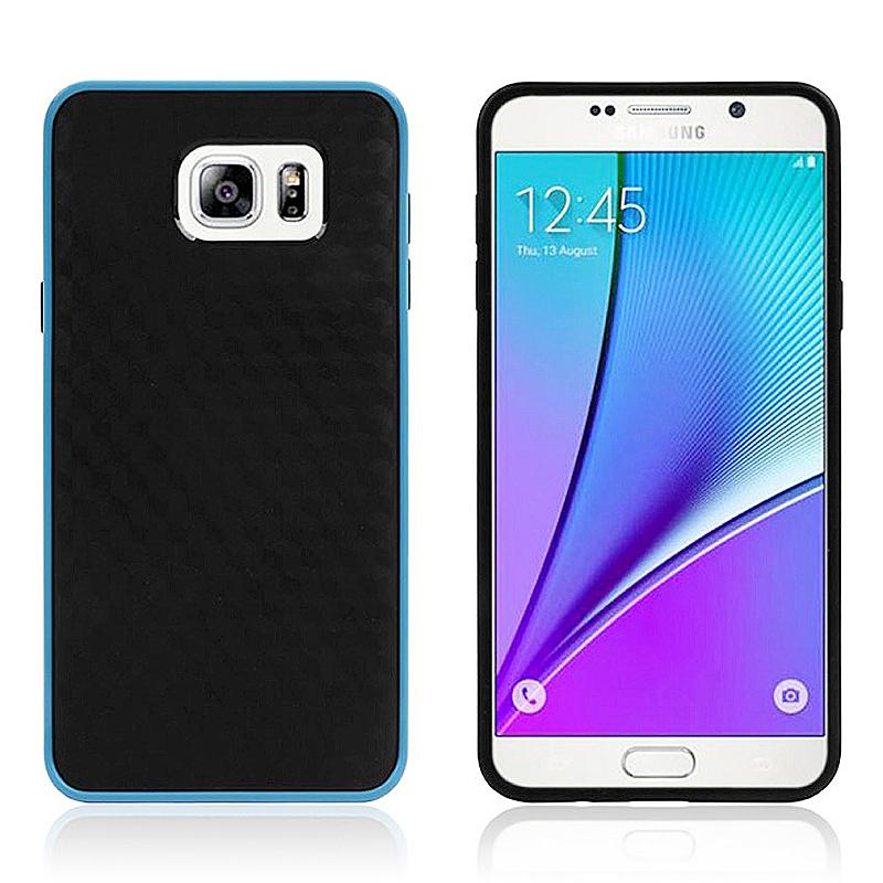 Bumblebee Soft Slim Thin TPU Back Case Skin for Samsung Note 5 - Blue