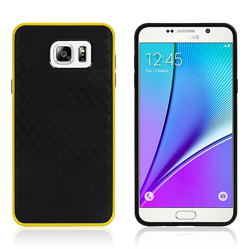 Bumblebee Soft Slim Thin TPU Back Case Skin for Samsung Note 5 - Yellow